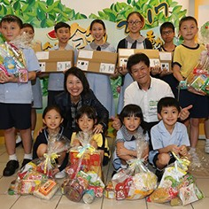 Sun Life has been supporting underprivileged students of the Fresh Fish Traders' School for a number of years.