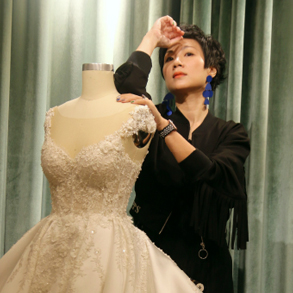 [Be inspired by People] Picking the perfect wedding dress with atelier Noel Chu