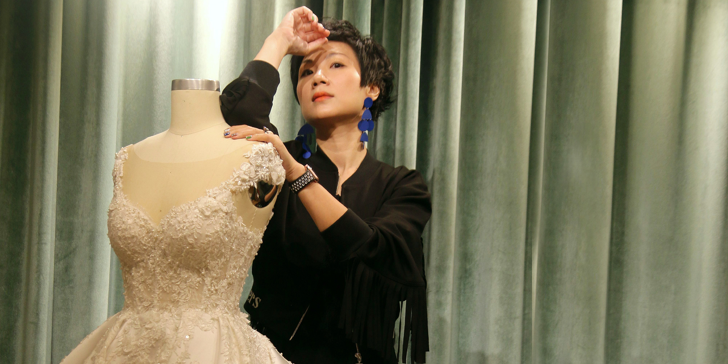 5d094f35d Hong Kong wedding dress atelier, Noel Chu has designed gowns for many  celebrities, the